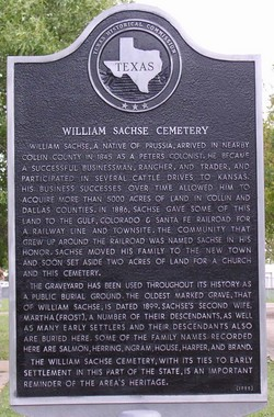 Sachse Cemetery
