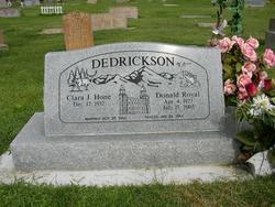 Donald Royal Dedrickson