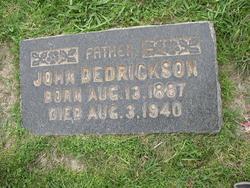 John Dedrickson