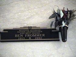 Ben Frommer