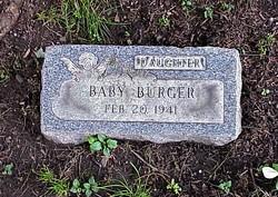 (Baby) Burger