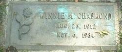 Winnie May <i>McGuire</i> Chapmond