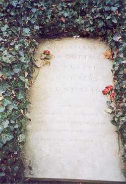 Christiane <i>Vulpius</i> von Goethe