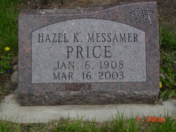 Hazel Kathryn <i>Messamer</i> Price