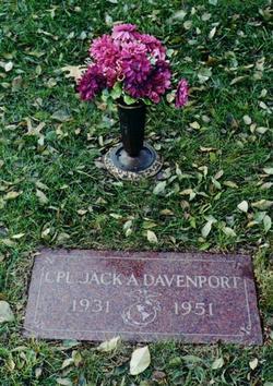 Corp Jack Arden Davenport