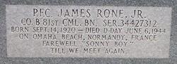 James H Rone, Jr