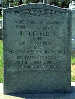 Alta M. Hulett