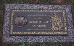Avrey Bennet Anderson