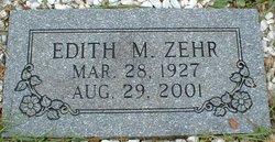 Edith M. Zehr