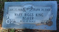 Mary Riggs <i>King</i> Beaver