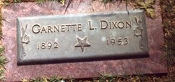 Garnette Lorraine <i>Woolam</i> Dixon