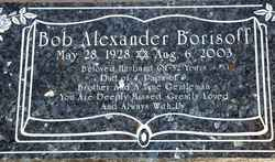 Bob Alexander Borisoff
