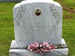 Matthew Robert Pee
