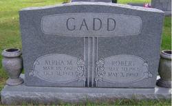 Alpha M. Gadd