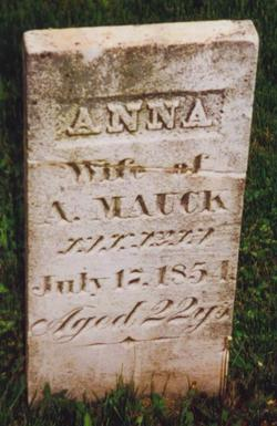 Anna Nancy <i>Frakes</i> Mauck