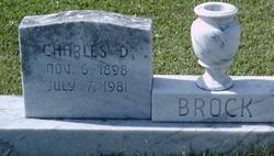 Charles D Brock