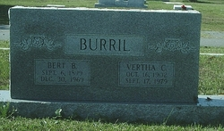 Bert B Burril