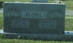 Vertha C Burril