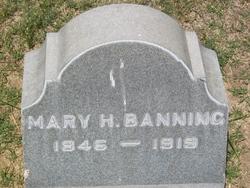 Mary <i>Hollister</i> Banning