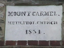 Mount Carmel United Methodist Church Cemetery
