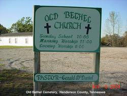Old Bethel Cemetery