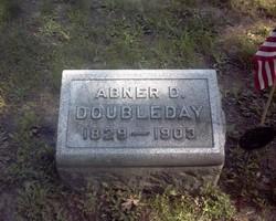 Lieut Abner Doubleday