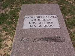 Nathaniel Nat Adderley