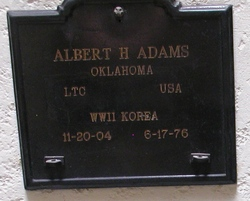Albert H Adams
