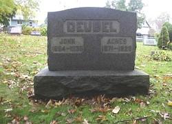 Agnes <i>Ley</i> Deubel