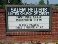 Salem Evangelical Reformed Church, Hellers