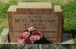 Bruce <i>Pryor</i> Cain