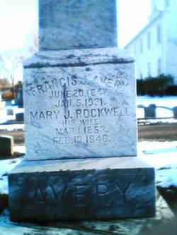 Mary J. <i>Rockwell</i> Avery