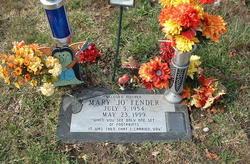 Mary Jo <i>Becher</i> Fender