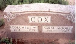 Columbus W. Cox