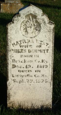 Matilda <i>West</i> Dimmitt