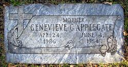 Genevieve Gertrude <i>Garrett</i> Applegate