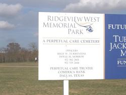 Ridgeview West Memorial Park