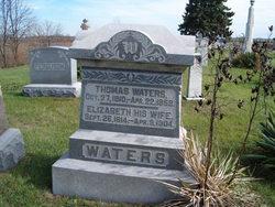 Elizabeth <i>DeHart</i> Waters