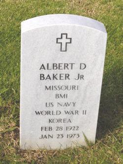 Albert D Baker, Jr
