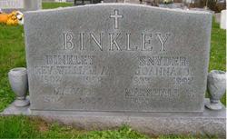 Rev William A. Binkley