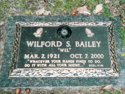 Dr Wilford S. Bailey
