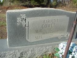 Harold E. Cowen