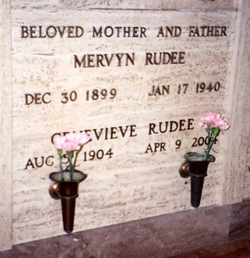 Genevieve <i>Abraham</i> Rudee
