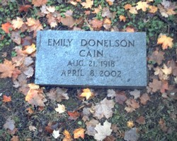 Emily <i>Donelson</i> Cain