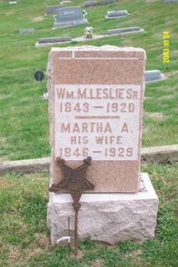 William M Leslie, Sr