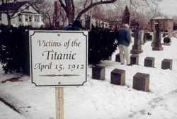 Mass Burial site of Titanic Victims