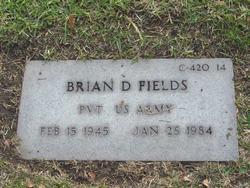Pvt Brian D Fields