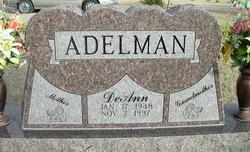 DeAnn <i>Rowley</i> Adelman