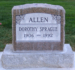 Dorothy <i>Sprague</i> Allen