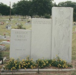 Arledge Ridge Cemetery-Bonham